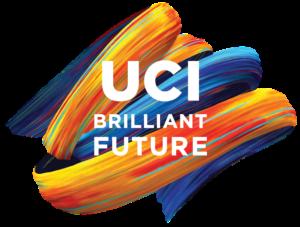 """UCI Brilliant Future"" written in front of the surge"