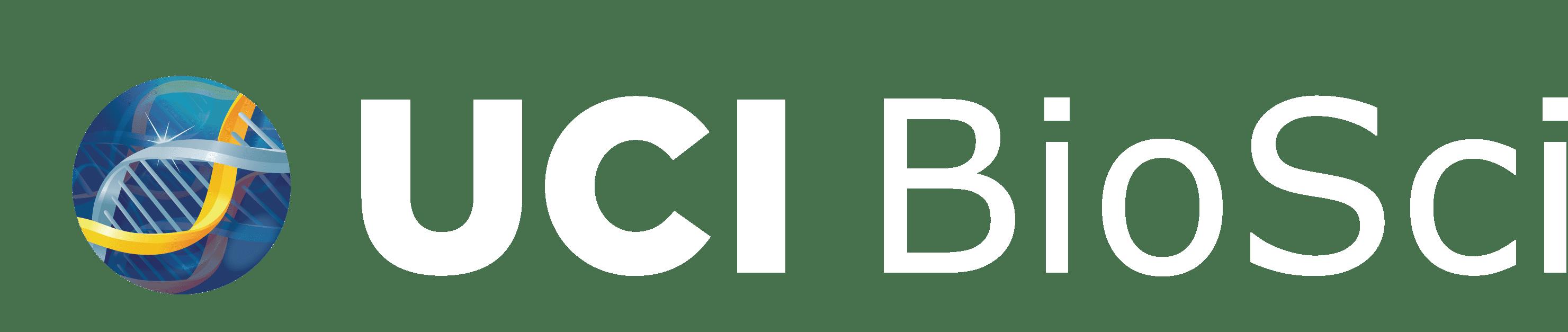 UCI BioSci logo white