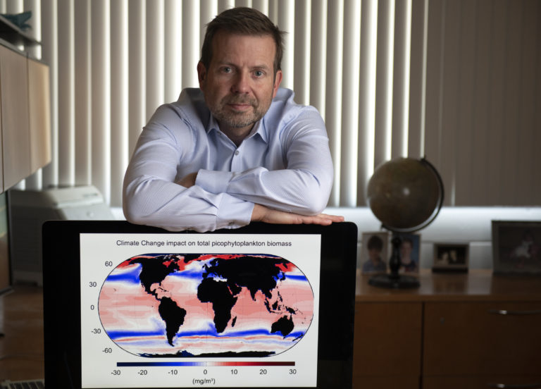 Contradicting prevalent view, UCI oceanographers predict increase in phytoplankton - Adam Martiny