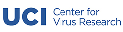 Logo for the UCI Center for Virus Research.