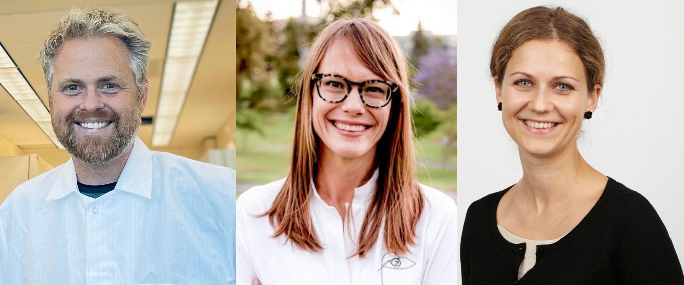 3 awardees for the dean's award 2021